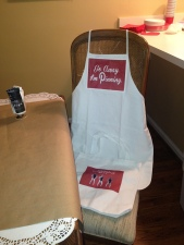 Easily Entertained Pinterest Apron